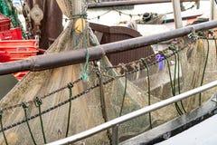 De boten van Noordzeegarnalen Royalty-vrije Stock Foto