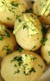 De Boter van de aardappel en van de Peterselie Royalty-vrije Stock Afbeelding