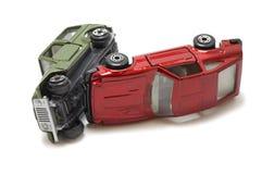 De botsing van de auto stock afbeelding