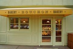 De Bouchon-Bakkerij in Yountville, Napa-Vallei stock foto's