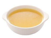 De bouillon van de kip stock afbeelding