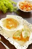 De bouillon van garnalen Royalty-vrije Stock Foto