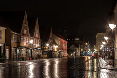 De boulevard van Aalborg Royalty-vrije Stock Afbeelding