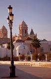 De boulevard van Cadiz Royalty-vrije Stock Foto