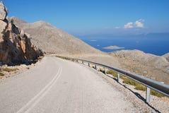 De Boulevard van de tarpoenlentes, Halki Royalty-vrije Stock Fotografie