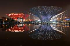 De Boulevard van Expo Royalty-vrije Stock Afbeeldingen