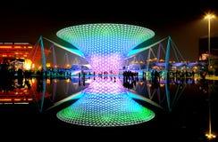 De boulevard van Expo bij Wereld Expo in Shanghai Stock Fotografie