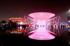 De boulevard van Expo bij Wereld Expo in Shanghai Royalty-vrije Stock Afbeelding