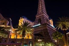 De Boulevard van het Hotellas vegas van Parijs Royalty-vrije Stock Fotografie