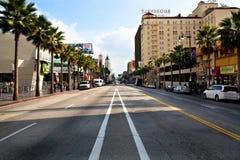 De Boulevard van Hollywood royalty-vrije stock foto's