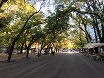 De boulevard van tsaarsimeon veliki stock foto's