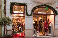 De boutique van Benetton Royalty-vrije Stock Afbeeldingen
