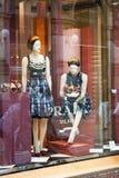 De boutique van Prada - Milaan Stock Foto
