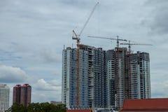 De bouw is in aanbouw Stock Foto