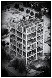 De bouw in aanbouw mening van de toren van Eiffel lahore royalty-vrije stock afbeeldingen