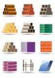 De bouw & bouwmaterialen royalty-vrije illustratie