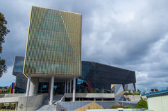 De bouw BC bij Deakin-Universiteit stock afbeeldingen