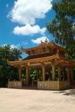 De bouw bij Chinese tempel royalty-vrije stock foto