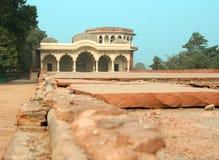 De bouw binnen het Rode Fort Royalty-vrije Stock Foto's