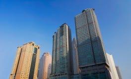 De bouw in Chongqing 3 royalty-vrije stock foto