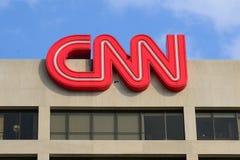 De Bouw CNN royalty-vrije stock afbeeldingen