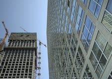 De bouw en bouw Stock Foto