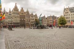 De Bouw en de Architectuur van Antwerpen royalty-vrije stock afbeelding