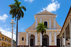 De Bouw en de Architectuur van Unesco Cuba in Trinidad 6 Stock Fotografie