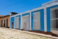 De Bouw en de Architectuur van Unesco Cuba in Trinidad 7 Stock Fotografie