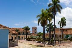 De Bouw en de Architectuur van Unesco Cuba in Trinidad 8 Stock Foto's