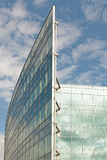 De bouw en de hemel van het glas Stock Fotografie
