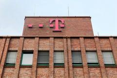 De bouw en het bureau van Deutsche Telekom stock foto's