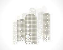 De bouw en Stadsillustratie royalty-vrije illustratie