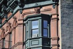 De bouw en venster Stock Afbeelding