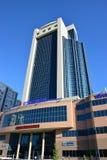 De bouw geroepen ZEVENDE CONTINENT in Astana Royalty-vrije Stock Foto's