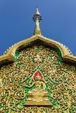 De bouw het vormen kunst in Thaise stijl, Wat Sri Don Moon Royalty-vrije Stock Fotografie