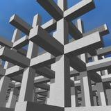 De bouw Infrastucture Stock Afbeelding