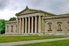 De bouw - klassieke Ionische orde van architectuur Stock Afbeeldingen