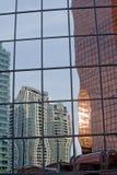 De bouw reflection2 Stock Foto's