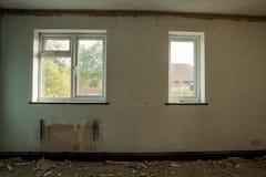 De bouw reparaties Stock Foto
