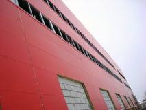 De bouw Rode Industriële Bouw Stock Foto's