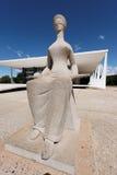 De Bouw STF in Brasilia Stock Afbeeldingen