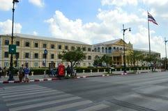 De bouw in Thailand stock afbeelding