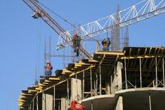 De bouw van 1 Stock Foto's