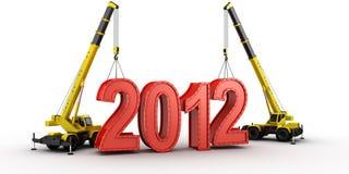 De bouw van 2012 Stock Foto's