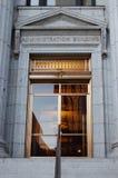De bouw van Administation Royalty-vrije Stock Afbeeldingen