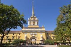 De Bouw van admiraliteit in St. Petersburg, Royalty-vrije Stock Afbeelding