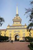 De Bouw van admiraliteit in St Petersburg Stock Fotografie