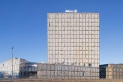 De Bouw van Allianzsuisse in Wallisellen Stock Afbeeldingen