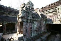 De bouw van Angkor-Tempels, Kambodja Royalty-vrije Stock Afbeeldingen